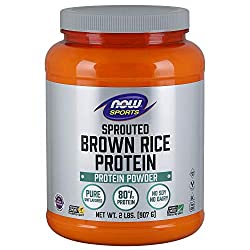 NOW Sports Nutrition Sprouted Brown Rice