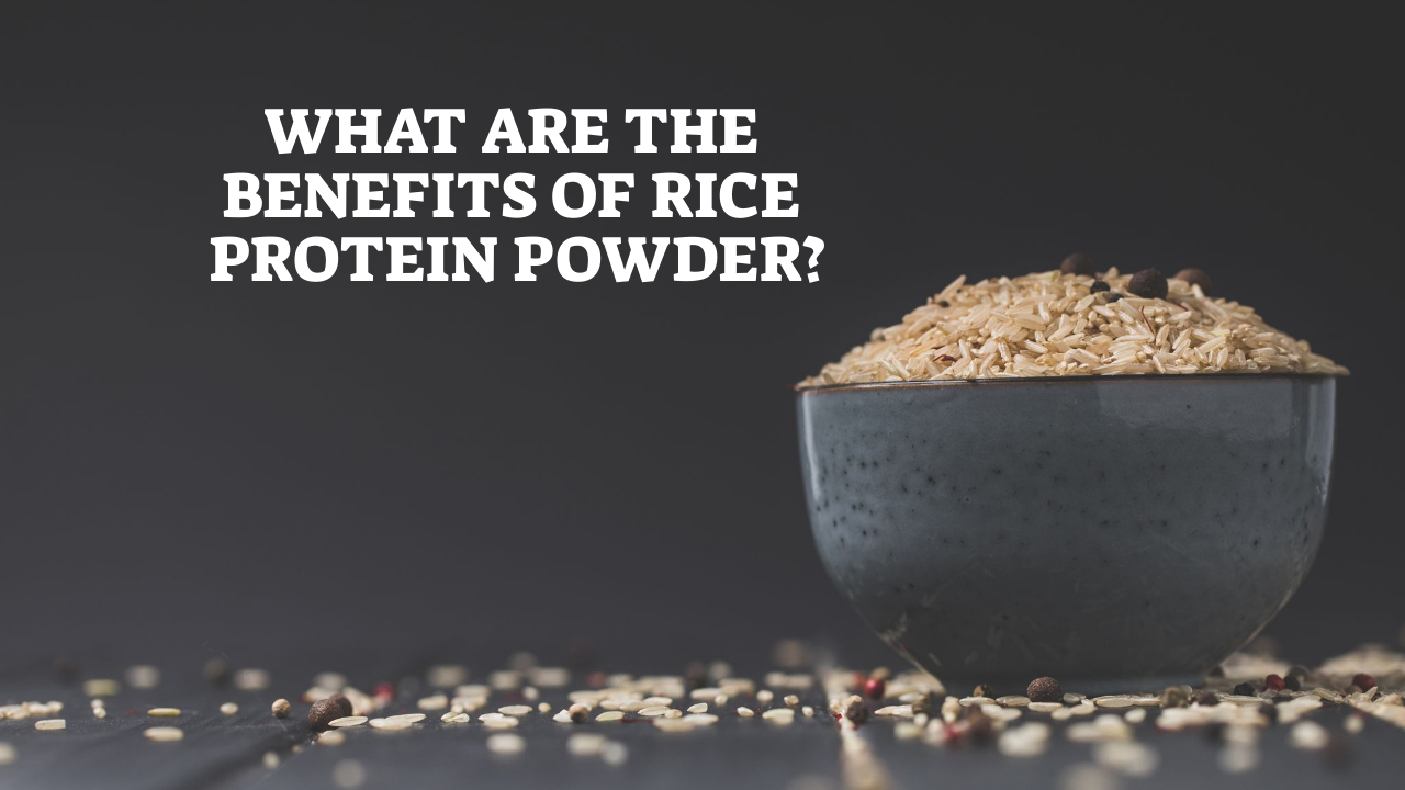 What Are The Benefits Of Rice Protein Powder